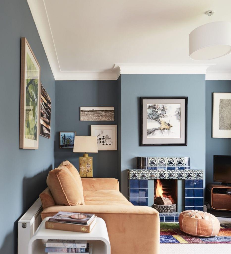 Modern sitting room design by Kitt Interiors, Interior Design Dublin.