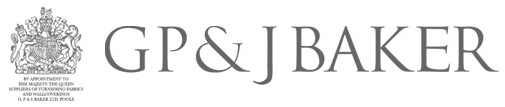 GP & J Baker Logo, they are suppliers for Kitt Interiors, interior design Dublin